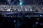 EXO, Jun 07, 2014 : Boy band EXO performs at the Dream Concert in Seoul, South Korea.  (Photo by Lee Jae-Won/AFLO) (SOUTH KOREA)