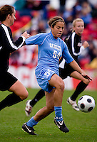 Casey Nogueira. UNC defeated Maryland, 1-0, during the regular season finale at College Park, Maryland.