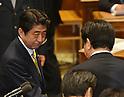 Japan's Prime Minister Yoshihiko Noda Debates with Shinzo Abe of the Opposition Liberal Democratic P