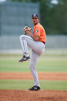 Houston Astros pitcher Jairo Solis (82) during a Minor League Spring Training game against the St. Louis Cardinals on March 27, 2018 at the Roger Dean Stadium Complex in Jupiter, Florida.  (Mike Janes/Four Seam Images)