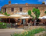 Italien, Toskana, Castellina in Chianti: Osteria alla Piazza | Italy, Tuscany, Castellina in Chianti: Osteria alla Piazza