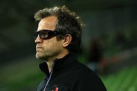 13th July 2021; AAMI Park, Melbourne, Victoria, Australia; International test rugby, Australia versus France; Fabien Galthie (Coach) of France