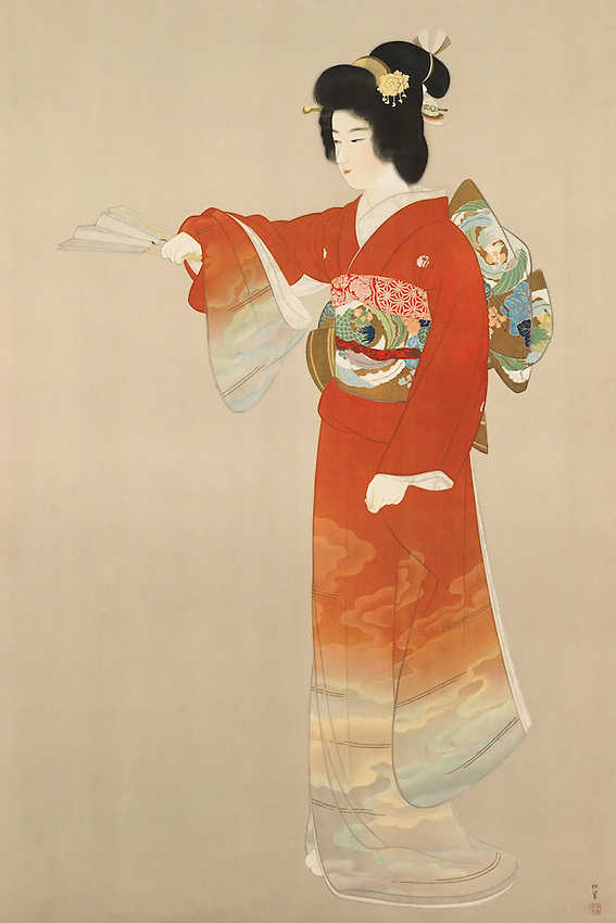 Board of Tourist Industry poster. Japanese Government Railways..