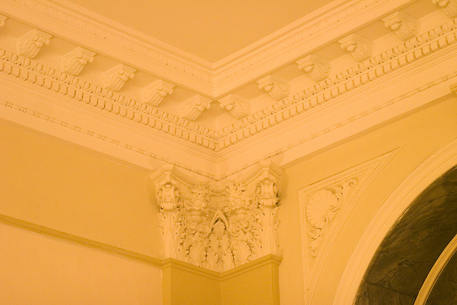 Ceiling Detail, Incanto Restaurant, Florence, Tuscany, Italy