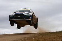 5th June 2021; Monte Acuto, Sardinia; WRC rally of Italia Sardinia; A Fourmaux-Ford Fiesta WRC 2