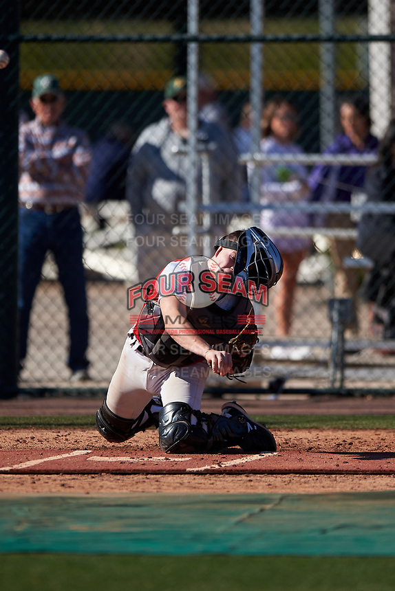 Mac McCommons during the Under Armour All-America Tournament powered by Baseball Factory on January 18, 2020 at Sloan Park in Mesa, Arizona.  (Zachary Lucy/Four Seam Images)