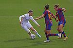 Liga IBERDROLA 2020-2021. Jornada: 18.<br /> FC Barcelona vs R. Madrid: 4-1.<br /> Marta Cardona, Leila Ouahabi & Mariona Caldentey.
