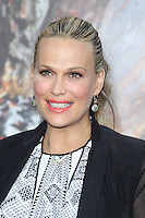 Molly Sims at the film premiere of 'Battleship,' at the NOKIA Theatre at L.A. LIVE in Los Angeles, California. May, 10, 2012. © mpi20/MediaPunch Inc.
