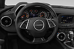 Car pictures of steering wheel view of a 2019 Chevrolet Camaro 1LT 2 Door Coupe