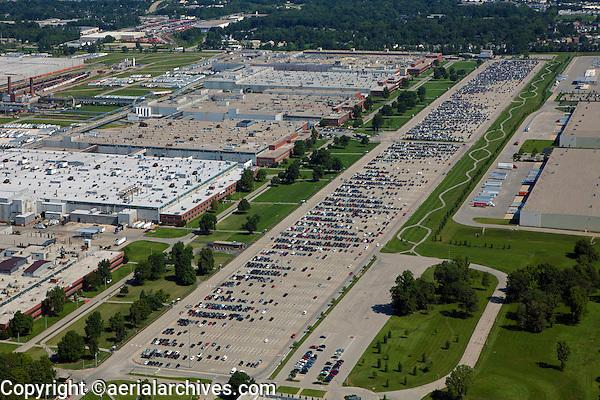 aerial photograph GE Appliance Park plant, Louisville, Kentucky
