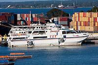 Zanzibar, Tanzania.  Zanzibar-to-Dar es Salaam Ferry.