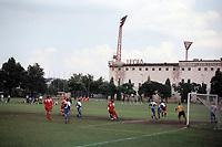 General view of Legia Warsaw FC Football Ground, Stadion Wojska Polskiego (Polish Army Stadium), ul Lazienkowska, Warsaw, Poland, pictured on 25th August 1996