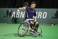 Rotterdam, The Netherlands, Februari 9, 2016,  ABNAMROWTT, Takashi Sanada (JPN)<br /> Photo: Tennisimages/Henk Koster