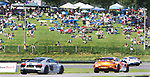 SALISBURY, CT. - 17 July 2021-071721SV03-Hundreds of fans line the race course for the IMSA Northeast Grand Prix event at Lime Rock Park in Lakeville Saturday.  <br /> Steven Valenti Republican-American