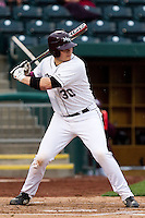 Luke Voit (30) of the Missouri State Bears during a game vs. the Western Illinois Leathernecks at Hammons Field in Springfield, Missouri;  March 19, 2011.  Photo By David Welker/Four Seam Images