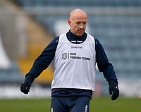19th December 2020; Dens Park, Dundee, Scotland; Scottish Championship Football, Dundee FC versus Dunfermline; Charlie Adam of Dundee during the warm up before the match