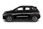 Car Driver side profile view of a 2022 Citroen C3-Aircross Shine 5 Door SUV Side View