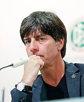 GDANSK, POLONIA, 26 JUNHO 2012 - COLETIVA ALEMANHA - O treinador da Alemanha Joachim Jogi Low durante entrevista coletiva neste terça-feira, 26. Alemanha enfretara a Italia na proxima quinta-feira em  partida valida pelas semi-finais da Eurocopa. (FOTO: PIXATHLON / BRAZIL PHOTO PRESS).