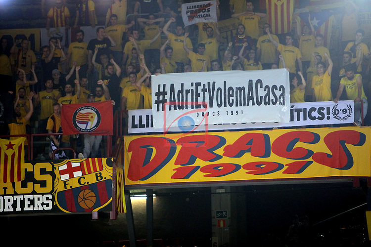 League ACB-ENDESA 2017/2018.<br /> PlayOff-Semifinal-Game: 3<br /> FC Barcelona Lassa vs Kirolbet Baskonia: 67-65.