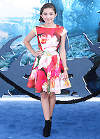 HOLLYWOOD, LOS ANGELES, CA, USA - MAY 28: Rowan Blanchard at the World Premiere Of Disney's 'Maleficent' held at the El Capitan Theatre on May 28, 2014 in Hollywood, Los Angeles, California, United States. (Photo by Xavier Collin/Celebrity Monitor)