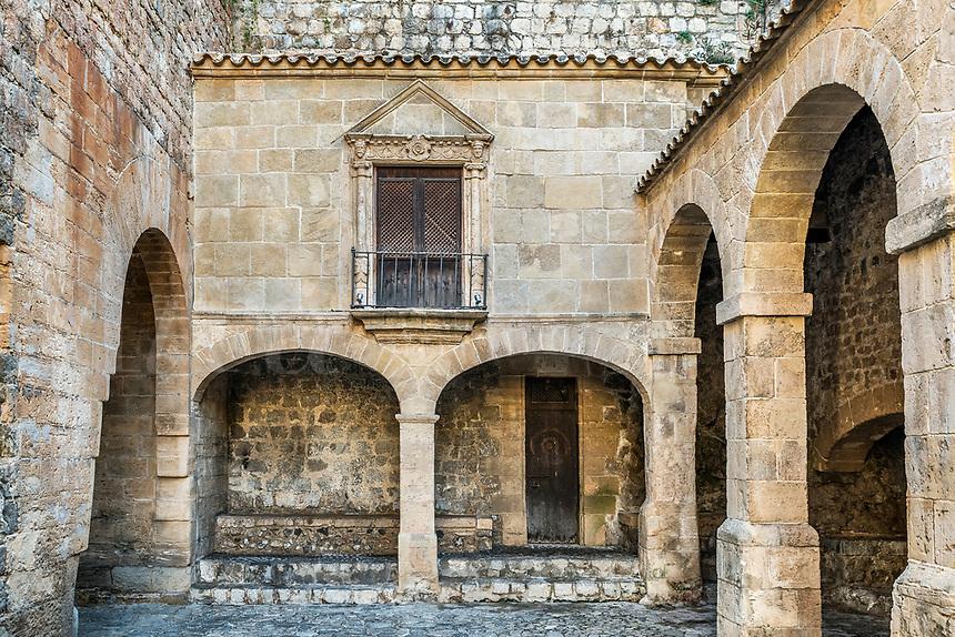 Fortified Ibiza Old Town, Dalt Vila,  Balearic Islands, Spain, Europe,