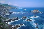 Pacific Ocean coastline at Big Sur, California, USA.