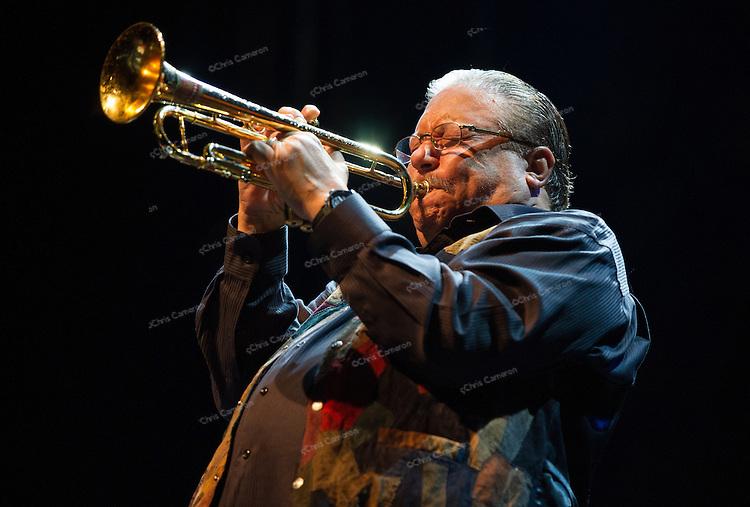 Arturo Sandoval plays the Vogue Theatre, on  June 23 2014 TD Vancouver International Jazz Festival