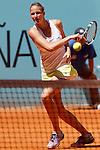 Karolina Pliskova during Madrid Open Tennis 2015 match.May, 5, 2015.(ALTERPHOTOS/Acero)