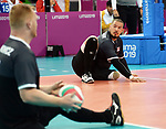 Jesse Buckingham and Darek Symonowics, Lima 2019 - Sitting Volleyball // Volleyball assis.<br />