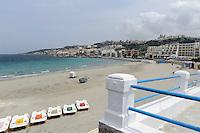 Strand an der Mellieha Bay, Malta, Europa