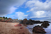SC -Prov. INVERNESS-SHIRE<br /> Black Isle - Red sands of Rosemarkie Beach<br /> <br /> Full size: 62,9 MB