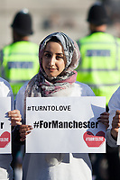23.05.2017 - Vigils For Manchester in Trafalgar Square