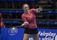 Rotterdam, Netherlands, December 13, 2016, Topsportcentrum, Lotto NK Tennis,   Mandy Wagemaker (NED)<br /> Photo: Tennisimages/Henk Koster