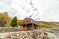 BNPS.co.uk (01202 558833)<br /> Pic: Bidwells/BNPS<br /> <br /> The picturesque remote home of world record-holding adventurer Tom McClean has gone on the market for offers over £700,000.<br /> <br /> The former paratrooper and SAS veteran has decided to sell his family home and business after running it for more than 50 years.<br /> <br /> Ardintigh Bay in the Scottish Highlands can only be accessed by boat or on foot.