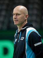 04-05-10, Zoetermeer, SilverDome, Tennis, Training Davis Cup, Technisch directeur van de KNLTB Rohan Goetzke