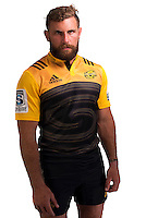 Callum Gibbins. Hurricanes Super Rugby official headshots at Rugby League Park, Wellington, New Zealand on Wednesday, 6 January 2016. Photo: Dave Lintott / lintottphoto.co.nz