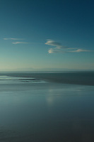 The Lake District and the Solway Firth from above Portowarren on the Colvend Coast, Galloway