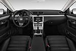 Stock photo of straight dashboard view of 2017 Volkswagen CC Sport 4 Door Sedan Dashboard