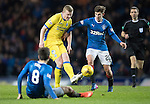 Rangers v St Johnstone…01.03.17     SPFL    Ibrox<br />Brian Easton battles with Emerson Hyndman and Jon Toral<br />Picture by Graeme Hart.<br />Copyright Perthshire Picture Agency<br />Tel: 01738 623350  Mobile: 07990 594431
