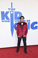 """Dean Chaumoo<br /> arriving for the premiere of """"The Kiid who would be King"""" at the Odeon Luxe cinema, Leicester Square, London<br /> <br /> ©Ash Knotek  D3476  03/02/2019"""