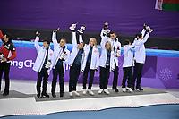 OLYMPIC GAMES: PYEONGCHANG: 12-02-2018, Gangneung Ice Arena, Figure Skating, Team Event Ice Dance Free Dance, Team USA (3rd place), ©photo Martin de Jong