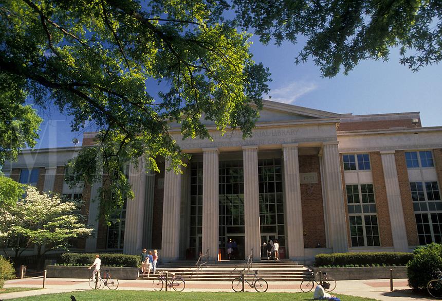 AJ2122, university, Georgia, Athens, The Little Memorial Library on the University of Georgia campus.