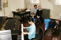 """Little Fingers Piano Competition"".  Brooklyn, NY.  2003."