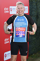 Rob Derring<br /> at the start of the 2018 London Marathon, Greenwich, London<br /> <br /> ©Ash Knotek  D3397  22/04/2018
