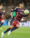 FC Barcelona's Neymar Jr during La Liga match. April 2,2016. (ALTERPHOTOS/Acero)