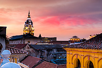 Cartagena Columbia, on the Caribbean Sea in South America.