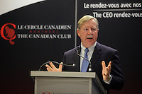 December 2, 2013 - John D. Williams, President & CEO of Domtar Corporation, deliver a speech titled ''  Building on the Fiber of Domtar '' to the Canadian Club of Montreal