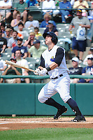 Trenton Thunder outfielder Tyler Austin (21) during game against the Erie SeaWolves at ARM & HAMMER Park on May 29 2013 in Trenton, NJ.  Trenton defeated Erie 3-1.  Tomasso DeRosa/Four Seam Images