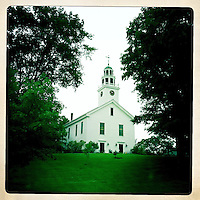 A Church in Greenfield, NH.