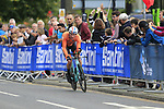 Jos Van Emden (NED) in action during the Men Elite Individual Time Trial of the UCI World Championships 2019 running 54km from Northallerton to Harrogate, England. 25th September 2019.<br /> Picture: Eoin Clarke | Cyclefile<br /> <br /> All photos usage must carry mandatory copyright credit (© Cyclefile | Eoin Clarke)
